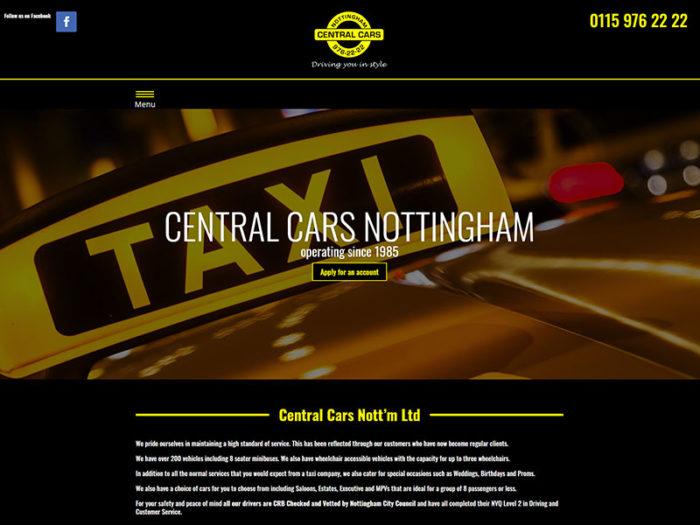 Central Cars Nottingham Home